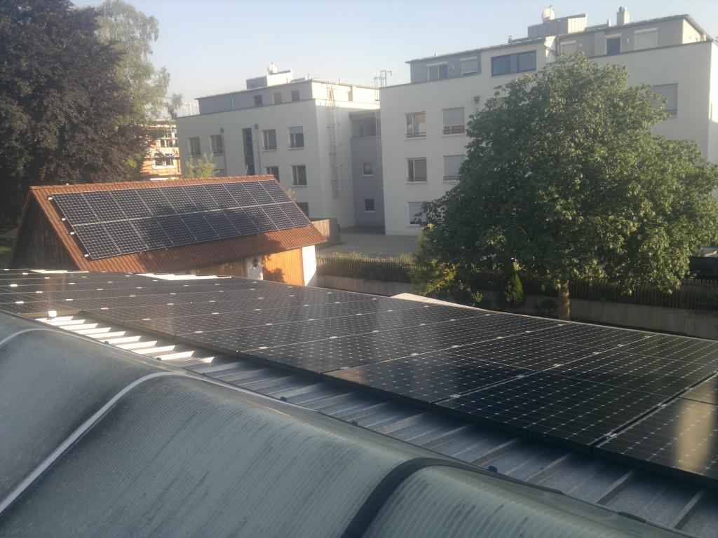 29,43 kWp Bäckerei Kästele in Bobingen Verteilt auf drei Dächern